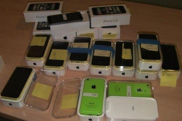 контрабанда iPhone 5S
