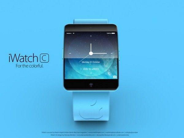 Концепт iWatch S и iWatch C от Мартина Хайека