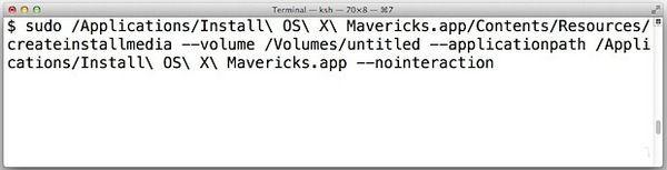 mavericks install