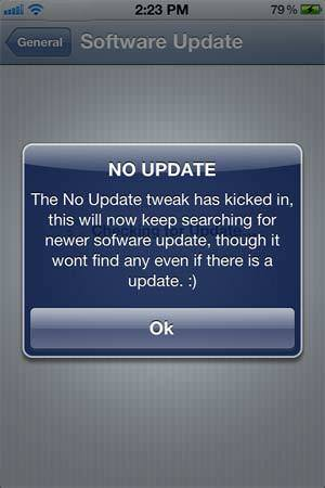 ios 7 no update