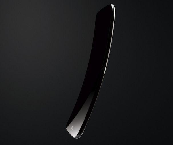 гнутый смартфон LG G Flex