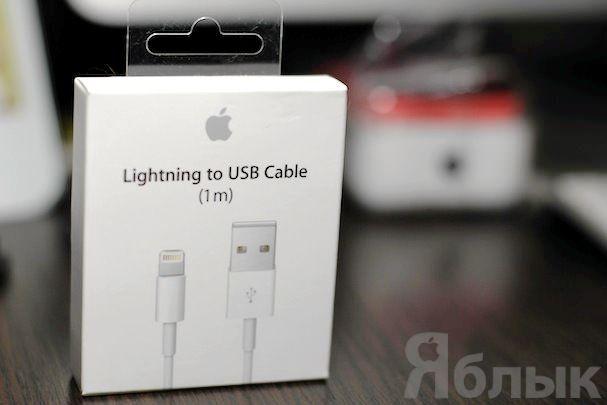 lightning кабель для iPhone или iPad