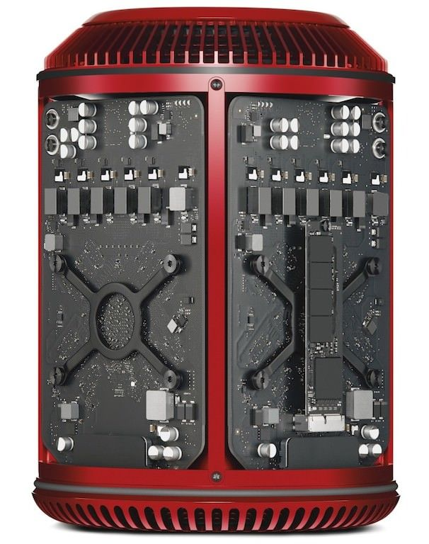 Джонни Айв создал RED Mac Pro