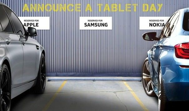 Nokia троллит Samsung