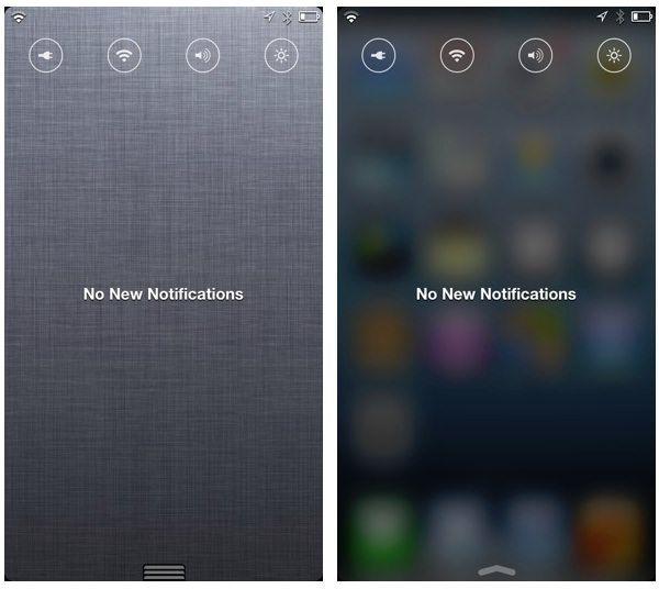 Центр Уведомлений iOS 7