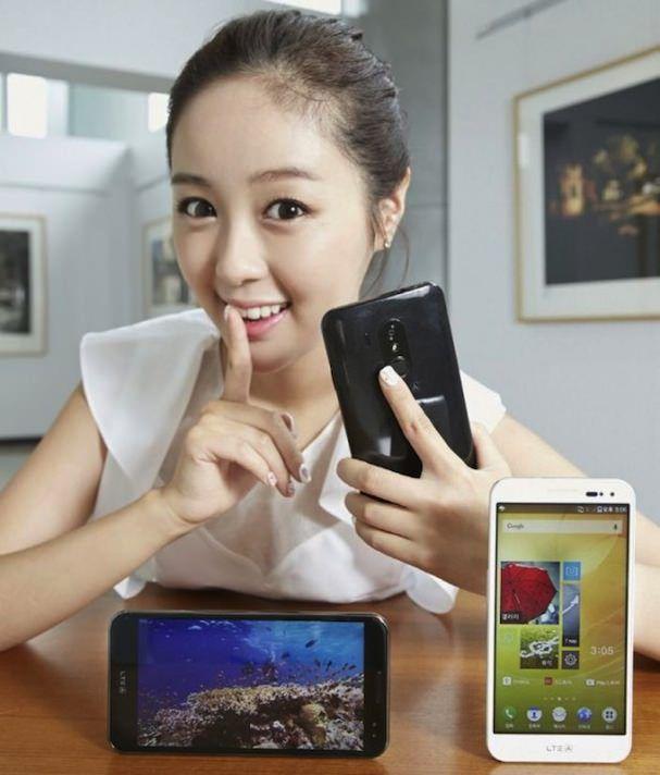 Android-смартфон со сканером отпечатков пальцев