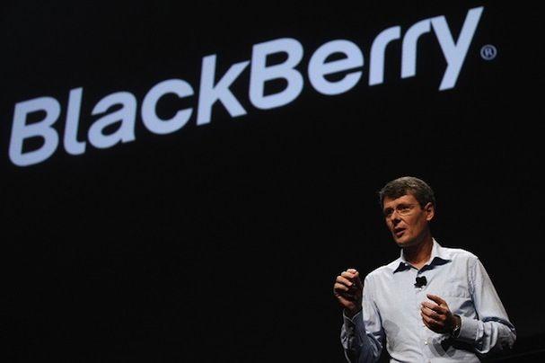 генеральный директор BlackBerry