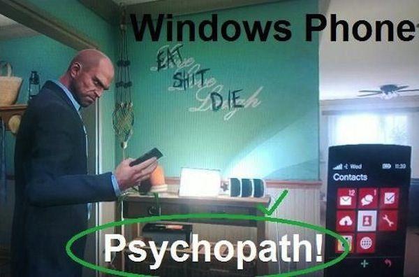 windows phone gta v