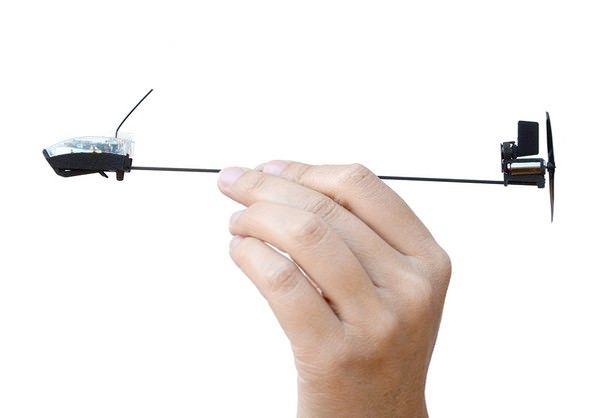 PowerUp 3.0 - бумажный самолетик, управляемый с iPhone