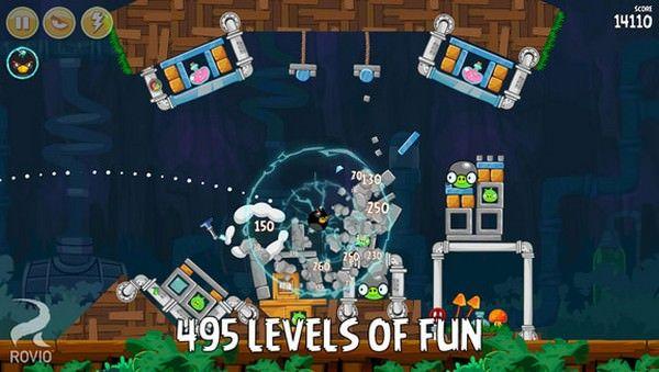 Обновленная игра Angry Birds