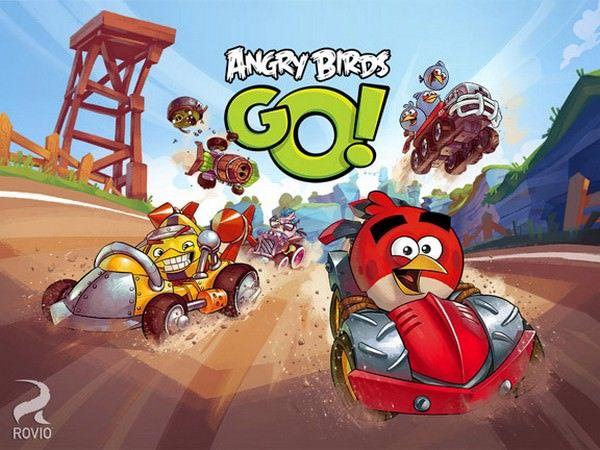 «Мягкий запуск» Angry Birds Go! в Новой Зеландии