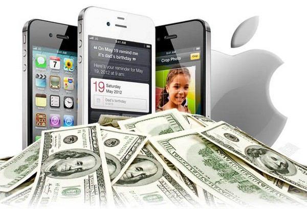 Apple накопила $10 млрд. доходов