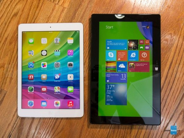 Apple iPad Air и Microsoft Surface Pro 2