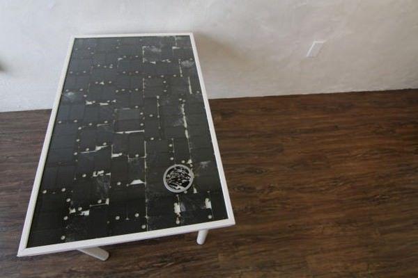 Произведение искусства из разбитого iPhone