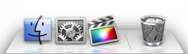 Док-панель в OS X