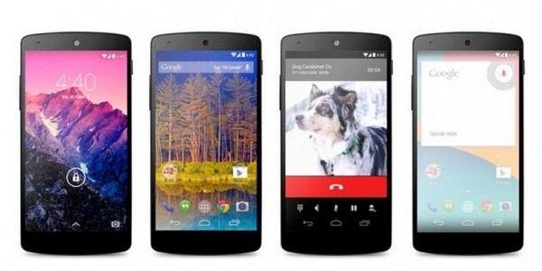 Google Nexus 5 поступил в продажу