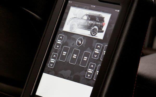 Toyota 4Runner iPad