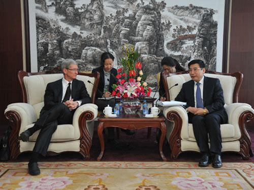 Тим Кук в Китае