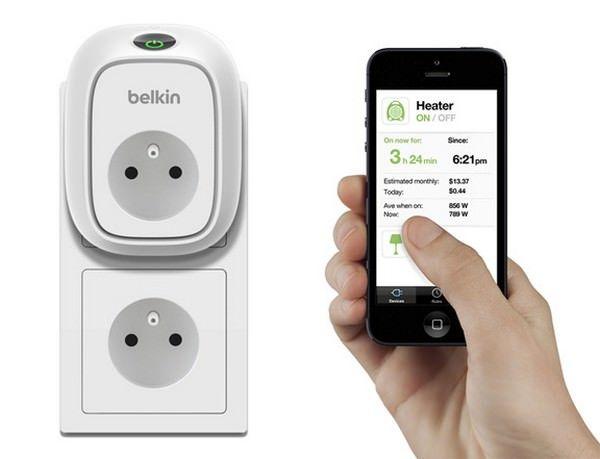 "WeMo Insight Switch - ""умная"" розетка от Belkin"