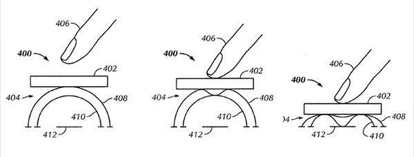 Apple зарегистрировала патент на сенсор