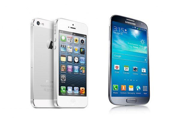 iPhone 5 и Galaxy S4