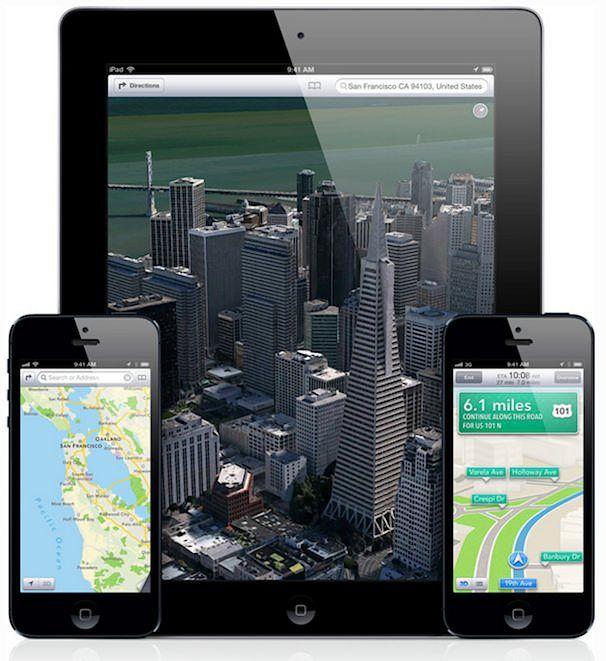 Карты Apple на iPhone и iPad