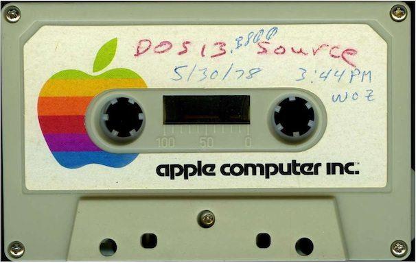 кассета с DOS для Apple ii