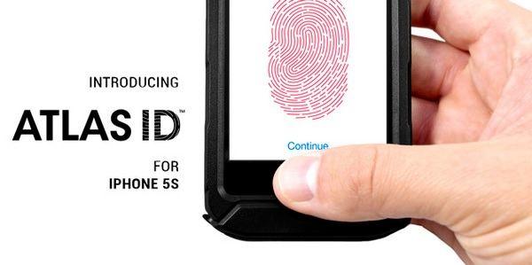 Водонепроницаемый чехол ATLAS ID для iPhone 5s