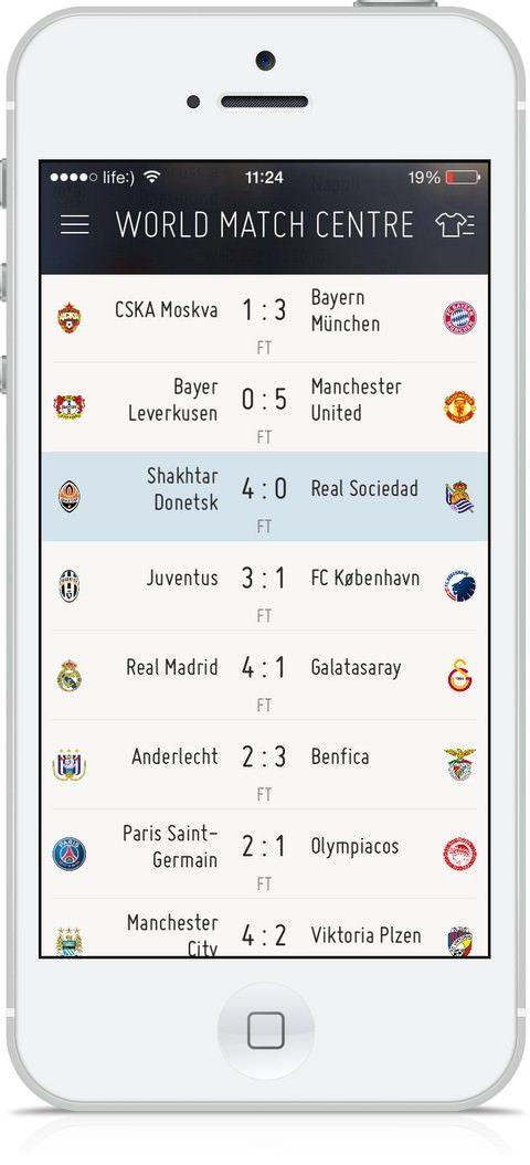 Официальное приложение FIFA для iPhone и iPad
