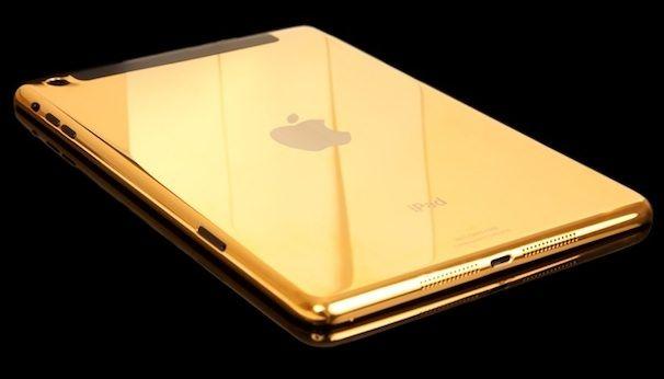 золотой ipad air