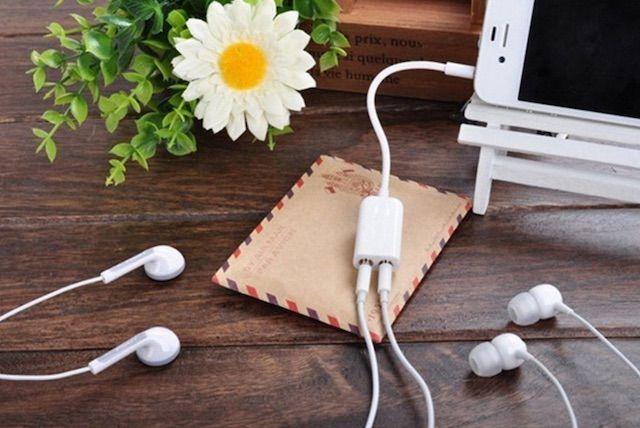 Разветвитель для наушников iPhone