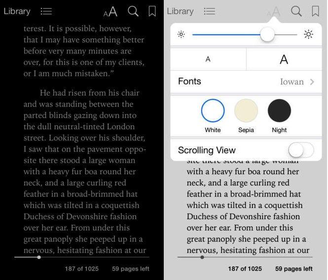 ibooks ios 7 для iPhone