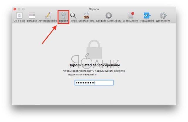 Как просмотреть пароли Связки ключей (iCloud Keychain) в macOS