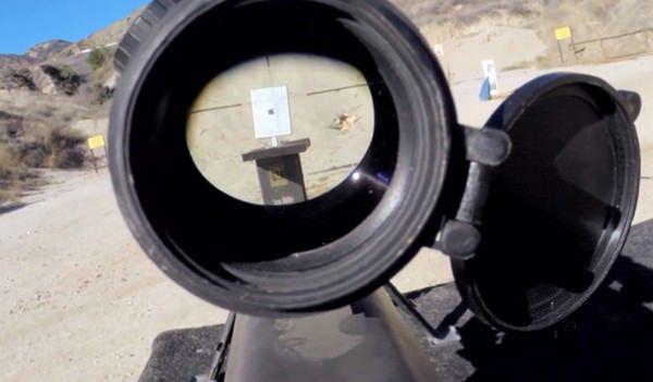iPad Air был расстрелян из винтовки
