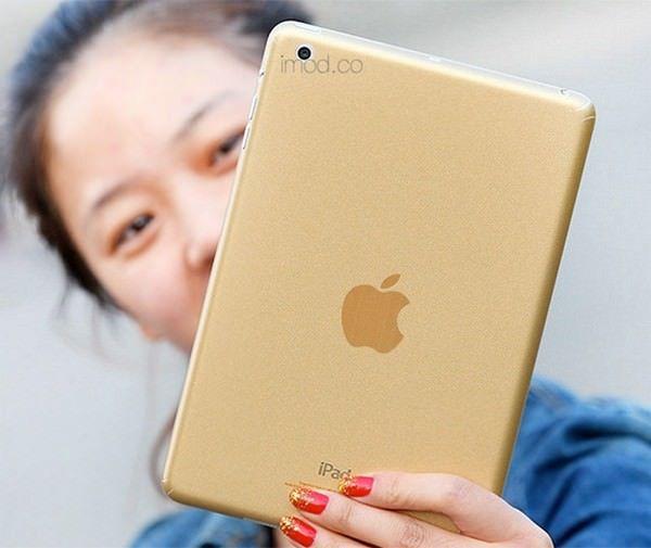 делать iPad Air и iPad mini 2 золотыми