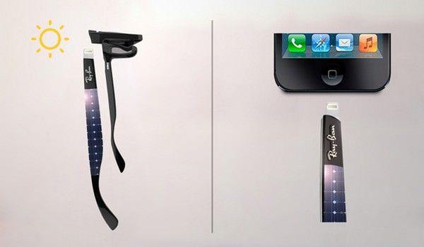 очки Ray-Ban с возможностью подзарядки iOS-устройств