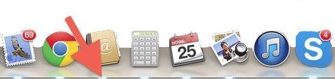 индикаторы в доке OS X
