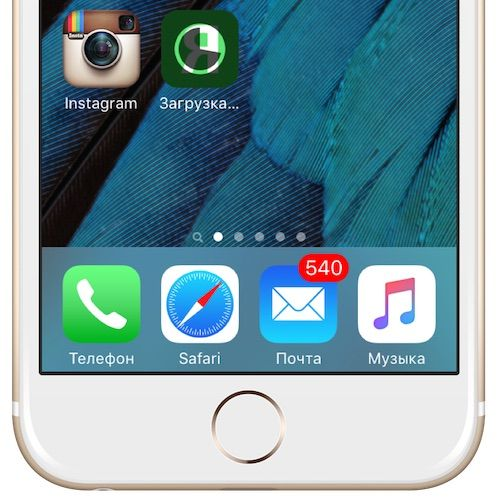 Установка приложения на iPhone