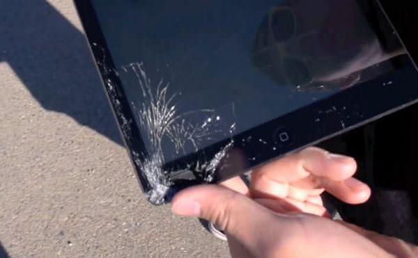 тест на прочность iPad Air