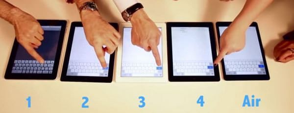 Тест на быстродействие: iPad Air