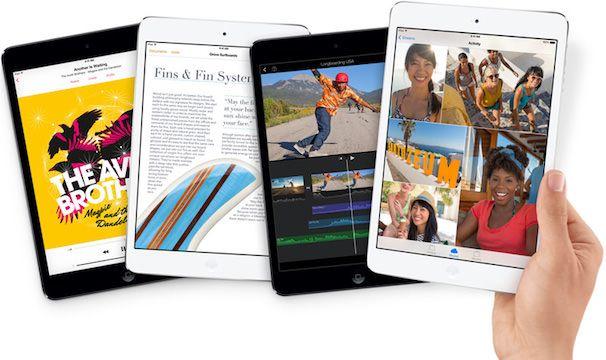 iPad mini 2 с дисплеем Retina