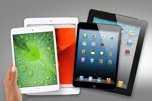iPad покупают реже
