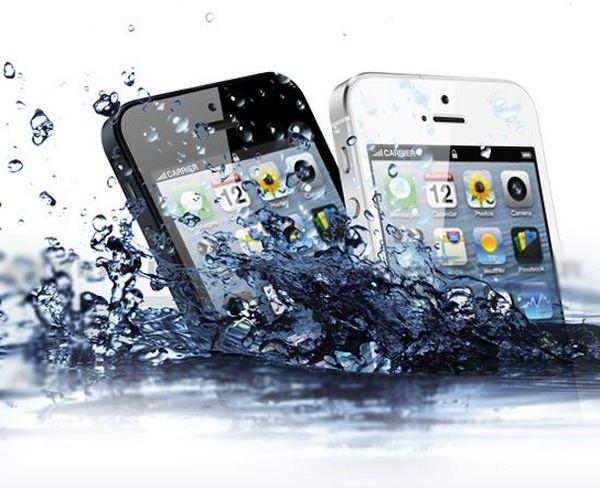 Поврежденные из-за влаги iPhone