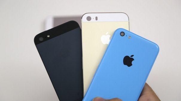 iPhone5 iPhone 5C и iPhone 5S сравнение камер