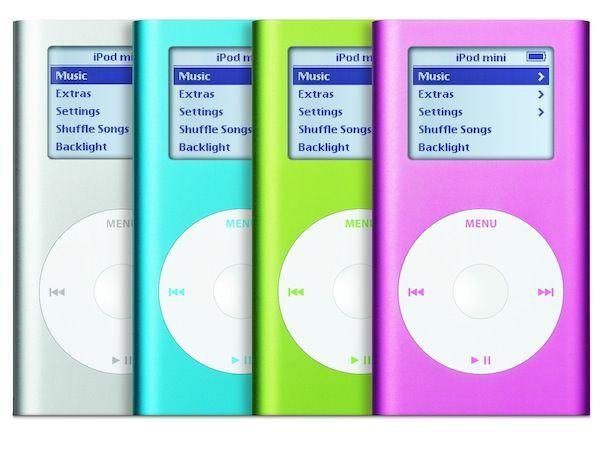 ipod mini первое поколение