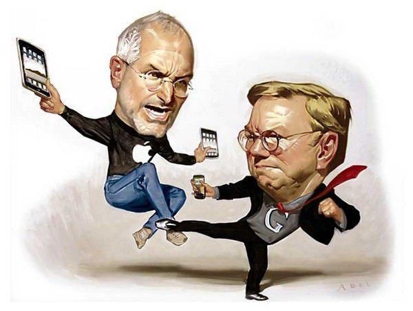 Схватка: Как Apple и Google развязали войну и начали революцию