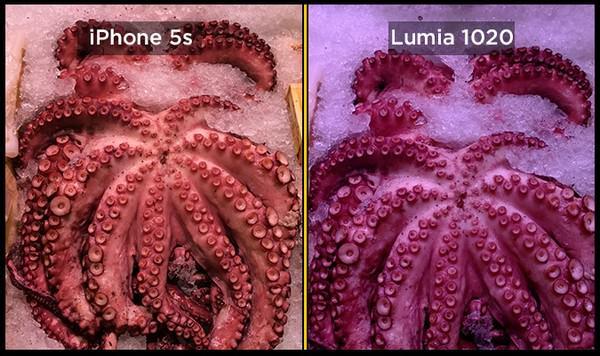 iPhone 5S против Nokia Lumia 1020