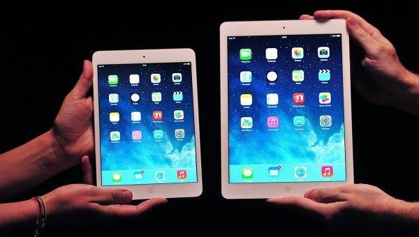 в России продано порядка 4000 «серых» iPad Air