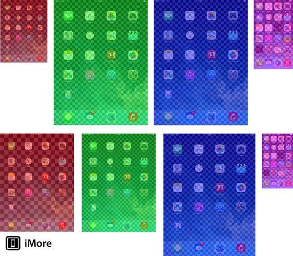 Сравнение качества дисплеев iPad