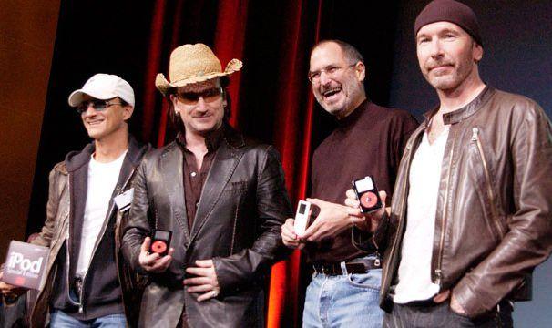 Стив Джобс и U2
